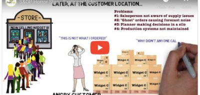 Sales and Operations Planning Explainer Video: Horror Story